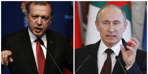 Premier contact entre Erdogan et Poutine depuis l'avion russe