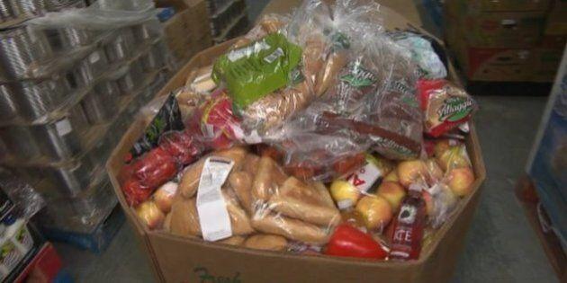 Pas de paniers de Noël à Valleyfield, la demande en aide alimentaire est trop
