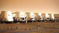 Les candidats de la télé-réalité sur Mars bientôt mis à