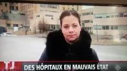 Une journaliste de Radio-Canada fait un lapsus gênant en direct