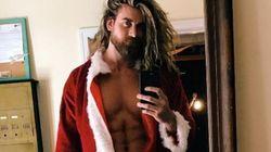 Ces pères Noël sexy vont vous garder au