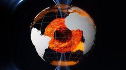 Un «courant-jet» de fer en fusion au centre de la