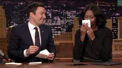 Michelle Obama a écrit un adorable mot à son mari aux côtés de Jimmy