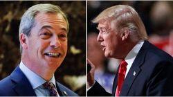 Nigel Farage rend visite à Donald