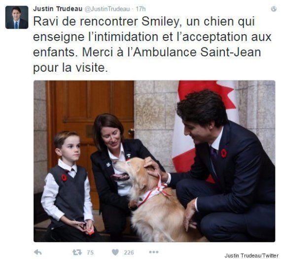 Un lapsus embarrassant de Justin Trudeau sur Twitter fait bien rire les
