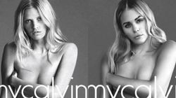 PO Beaudoin et Marina Bastarache jouent les mannequins pour Calvin Klein