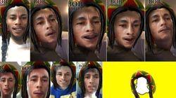 Voici pourquoi le filtre Bob Marley de Snapchat ne fait pas