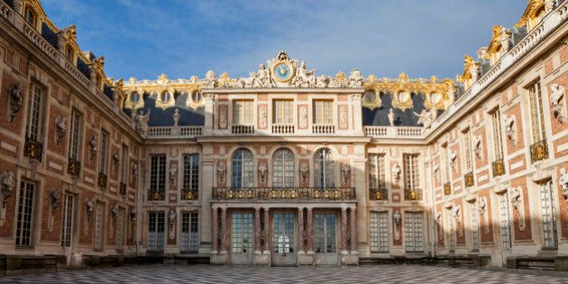 Then the chateau was built, Versailles was a country village; today, however, it is a wealthy suburb...