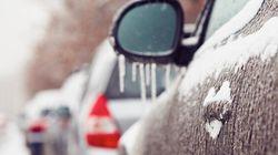 Prenez garde, des avertissements de pluie verglaçante sont en vigueur pour plusieurs