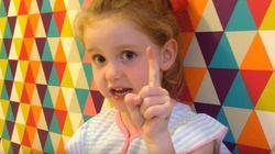 Une fillette de 5 ans chicane la première ministre de
