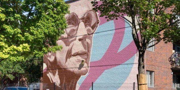 Une murale en l'honneur de Janine Sutto à