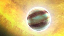 On a trouvé des nuages sur une exoplanète (et ils pourraient être remplis de rubis et de