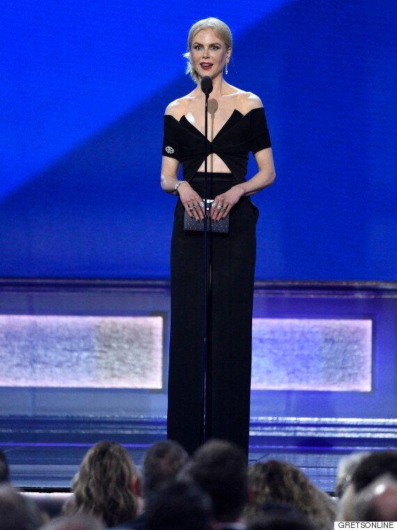 Critics Choice Awards 2016: les robes noires étaient légion sur le tapis rouge