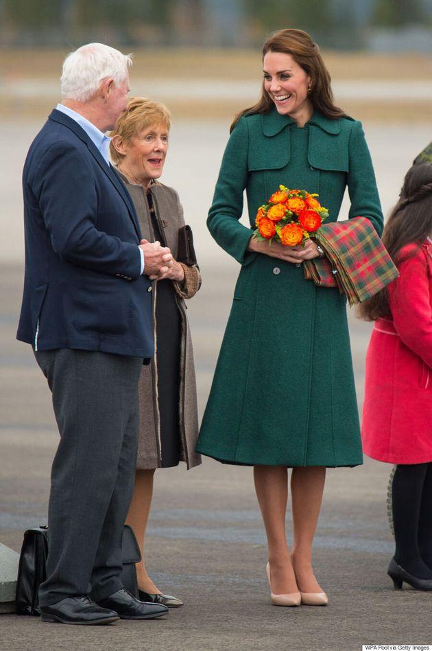 Kate Middleton en Dolce & Gabbana dans les contrées nordiques du