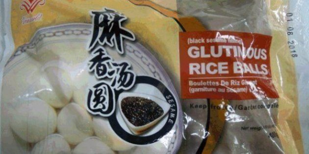Avis de rappel: ces boulettes de riz gluant Vanworld pourraient contenir des