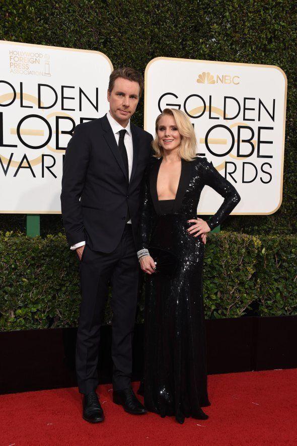 Kristen Bell n'a pas eu honte de montrer son «faux-cul» aux Golden