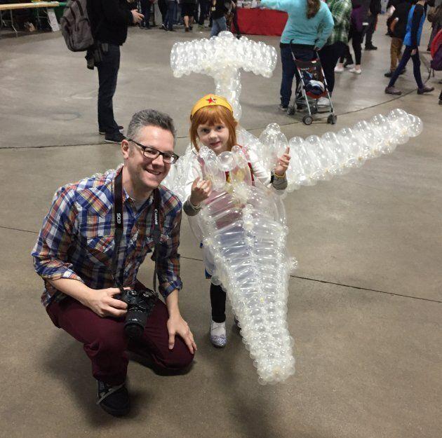 Marty Pants et sa fille au