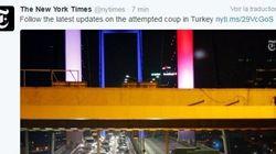 Le coup d'État en Turquie vu par les réseaux