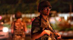 Les photos du coup d'État en