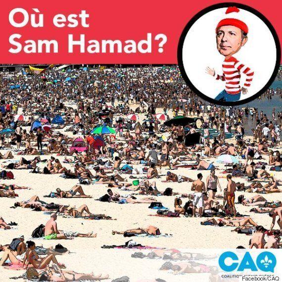 La CAQ demande votre aide pour trouver Sam