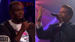 Le rap sans pitié d'Usain Bolt face à James