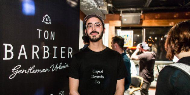 Styles de soirée: Ton Barbier en mode 5 @ 7 festif pour fêter la fin de Movember