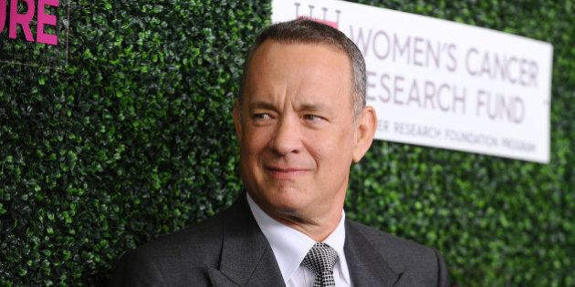 BEVERLY HILLS, CA - FEBRUARY 16: Actor Tom Hanks attends An Unforgettable Evening at the Beverly Wilshire...