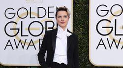 Evan Rachel Wood avait une excellente raison de porter un costume aux Golden
