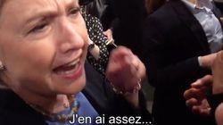 Hillary Clinton perd son sang-froid face à une militante de Greenpeace