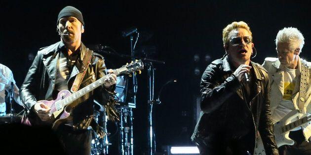 Bono et le guitariste de U2 en spectacle à Ottawa pour la fête du