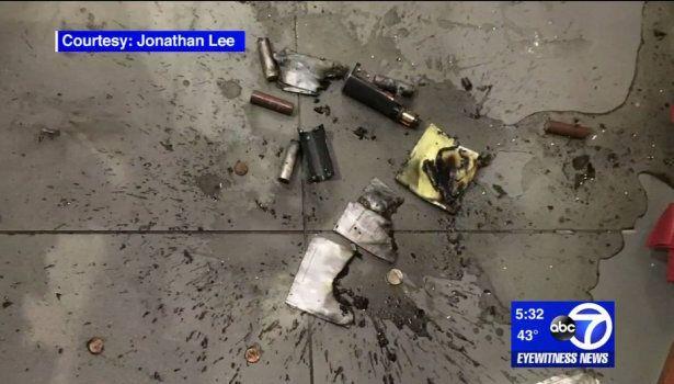 Nouvelle vidéo impressionnante de l'explosion d'une cigarette