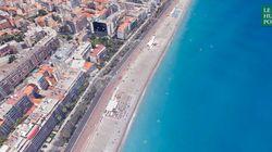 Attentat de Nice: le trajet du camion sur la Promenade des Anglais