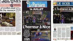 Les Unes des journaux après l'attaque au camion à