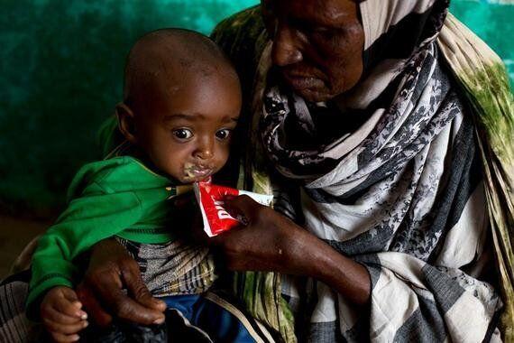 L'espoir, malgré la famine qui menace plus d'un million
