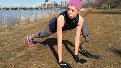 Elle a perdu une jambe lors des attentats de Boston. Aujourd'hui, elle court le