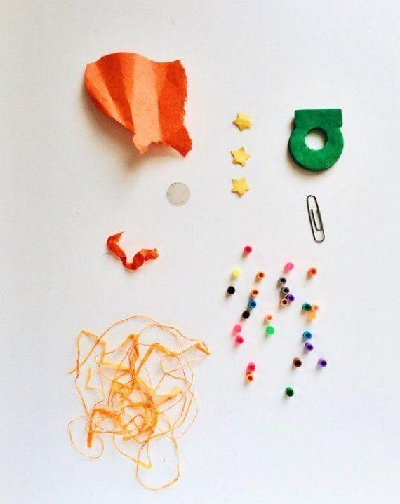 Une photographe capture les trésors que son enfant garde dans ses poches