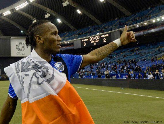 Didier Drogba fait ses adieux au public