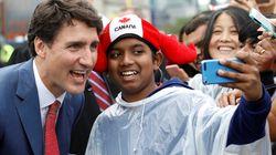 Justin Trudeau a fait une gaffe dans son discours lors de la fête du