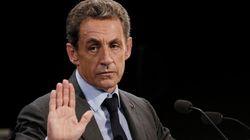 L'ex-président Sarkozy quitte la