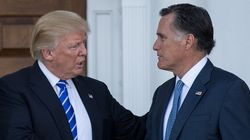 «Profonde conversation» entre Mitt Romney et Donal