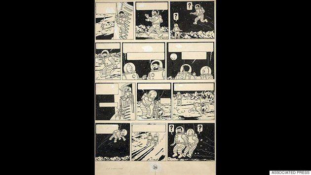 Tintin décroche la Lune aux