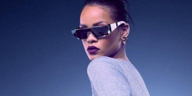 Rihanna dans les coulisses de la création de ses solaires pour Dior