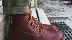 Des bottes pour donner un coup de pied à