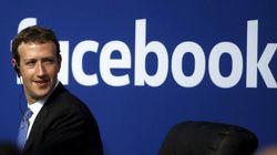 Facebook annonce à des utilisateurs qu'ils sont