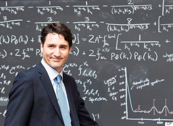 Justin Trudeau parle d'informatique quantique à un journaliste qui lui parlait d'État islamique