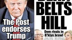Le «New York Post» soutient Donald Trump... en lui demandant de
