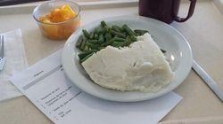 Voici de quoi ont l'air certains repas dans les CHSLD