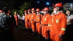 Trente-trois mineurs chinois sont coincés sous terre après une