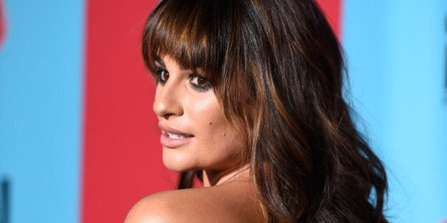 HOLLYWOOD, CA - OCTOBER 05:  Actress Lea Michele attends FX's 'American Horror Story: Freak Show' premiere screening at TCL Chinese Theatre on October 5, 2014 in Hollywood, California.  (Photo by Frazer Harrison/Getty Images)