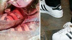 Les ancêtres des espadrilles Adidas portées par une momie de 1500 ans?